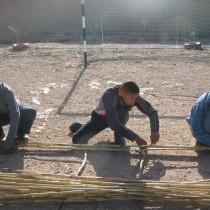 Fabrication et installation de bancs et de pergolas