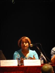 Naima BARILLOT - Docteur en sociolinguistique, Présidente de l'association Méditerranéenne pour l'Interculturalité et l'Intergénérationnel (AM2I)