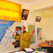 Le président de la commune d'Arbâa Sahel présente la géographie de la commune