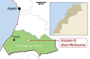 Carte - Localisation ASSAIN ADE3-01